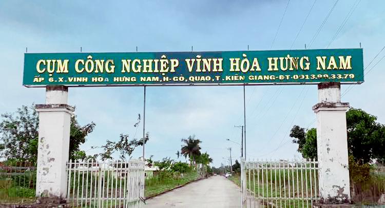 Cụm Công nghiệp Vĩnh Hòa Hưng Nam